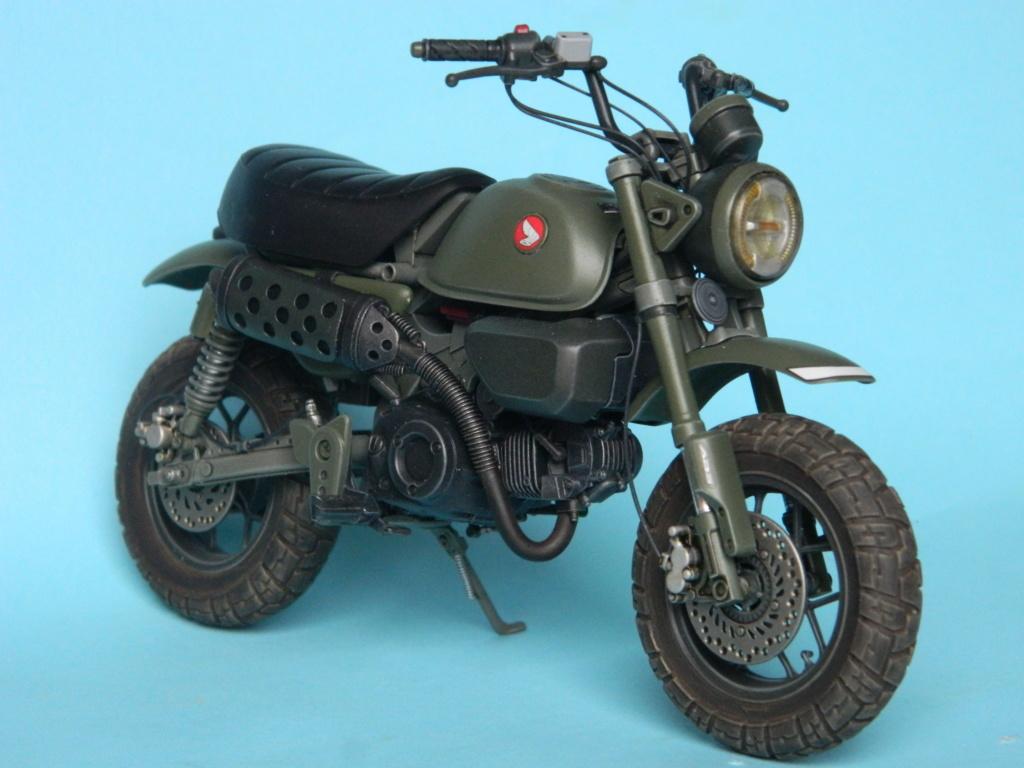 Monkey 125 Honda. Tamiya 1/12. Terminé . 3919