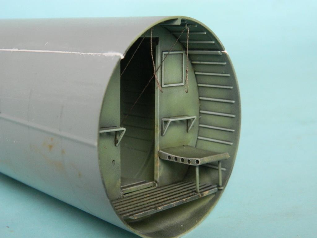 A.S.51 HORSA  Mk.1.  Bronco 1/35. Fermeture du fuselage. 4226