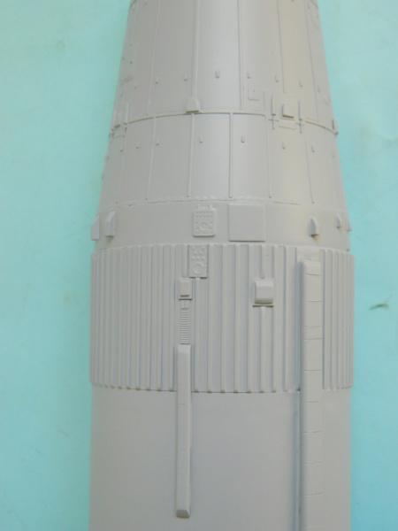 "APOLLO 11. AS-506. ""Peinture des moteurs F-1 "". 4318"