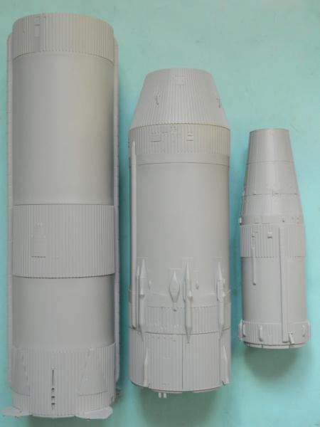 "APOLLO 11. AS-506. ""Peinture des moteurs F-1 "". 4419"