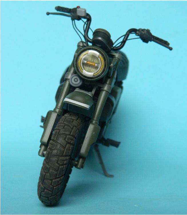 Monkey 125 Honda. Tamiya 1/12. Terminé . 4620
