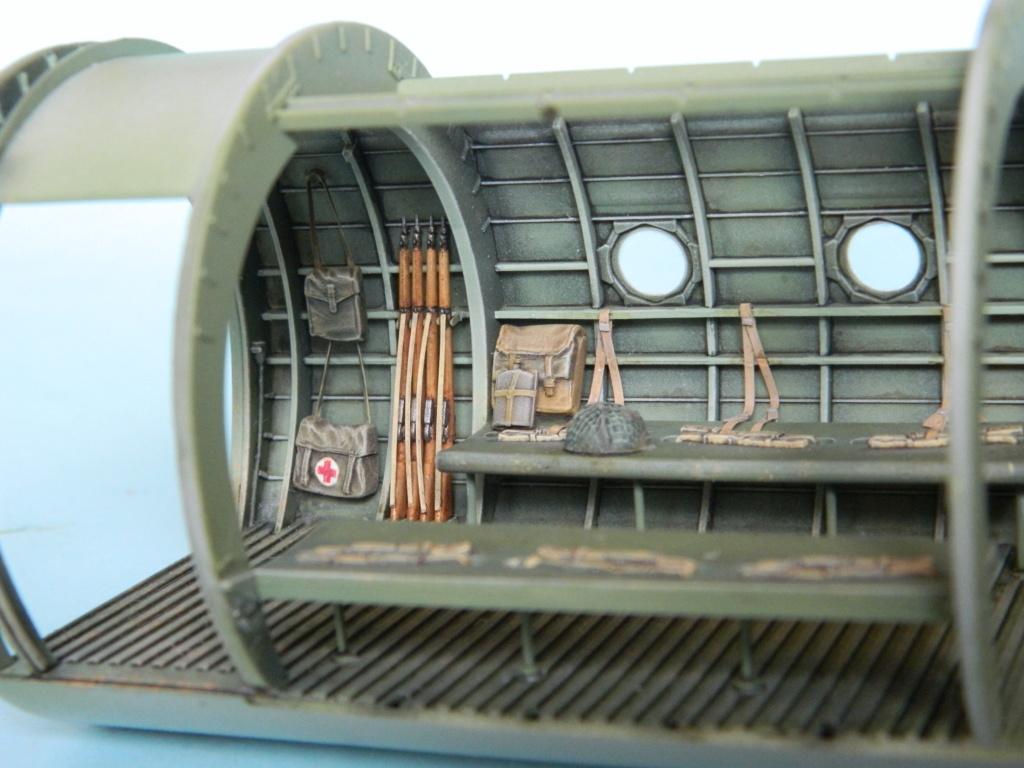 A.S.51 HORSA  Mk.1.  Bronco 1/35. Fermeture du fuselage. 4625