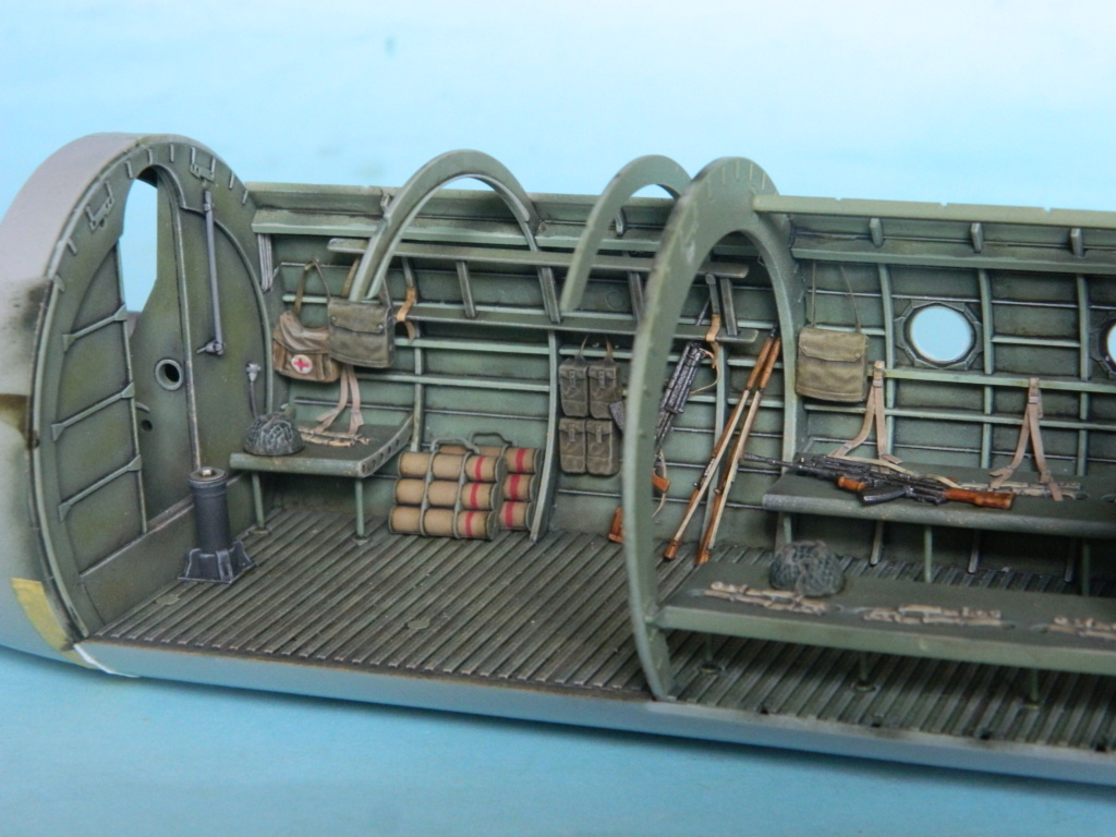 A.S.51 HORSA  Mk.1.  Bronco 1/35. Fermeture du fuselage. 4822