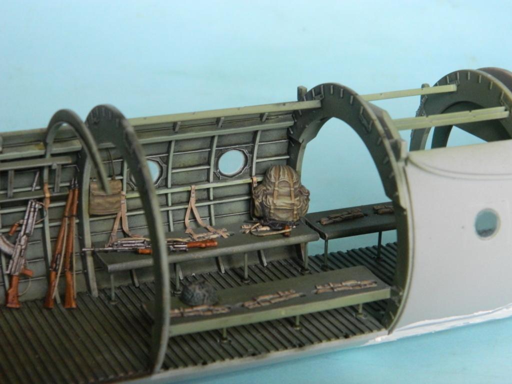 A.S.51 HORSA  Mk.1.  Bronco 1/35. Fermeture du fuselage. 5023