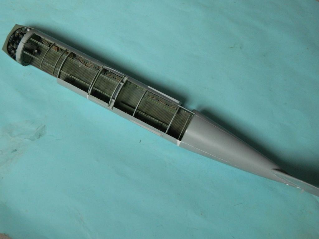 A.S.51 HORSA  Mk.1.  Bronco 1/35. Fermeture du fuselage. 5720