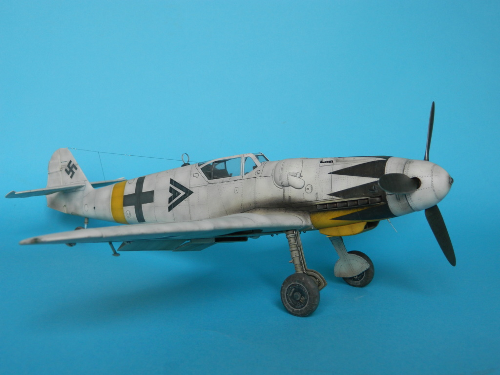 Messerschmitt Bf.109 G14. Revell 1/32. Ende. - Page 3 6116