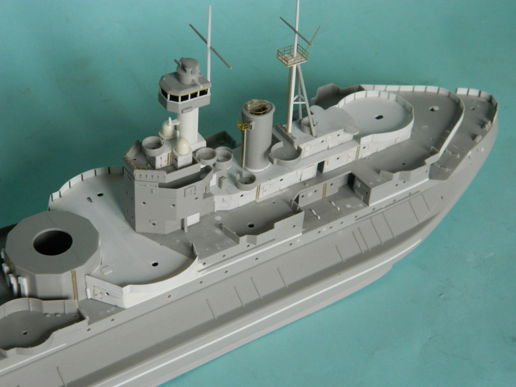 HMS Abercrombie Monitor. 1/350Trumpeter. 634