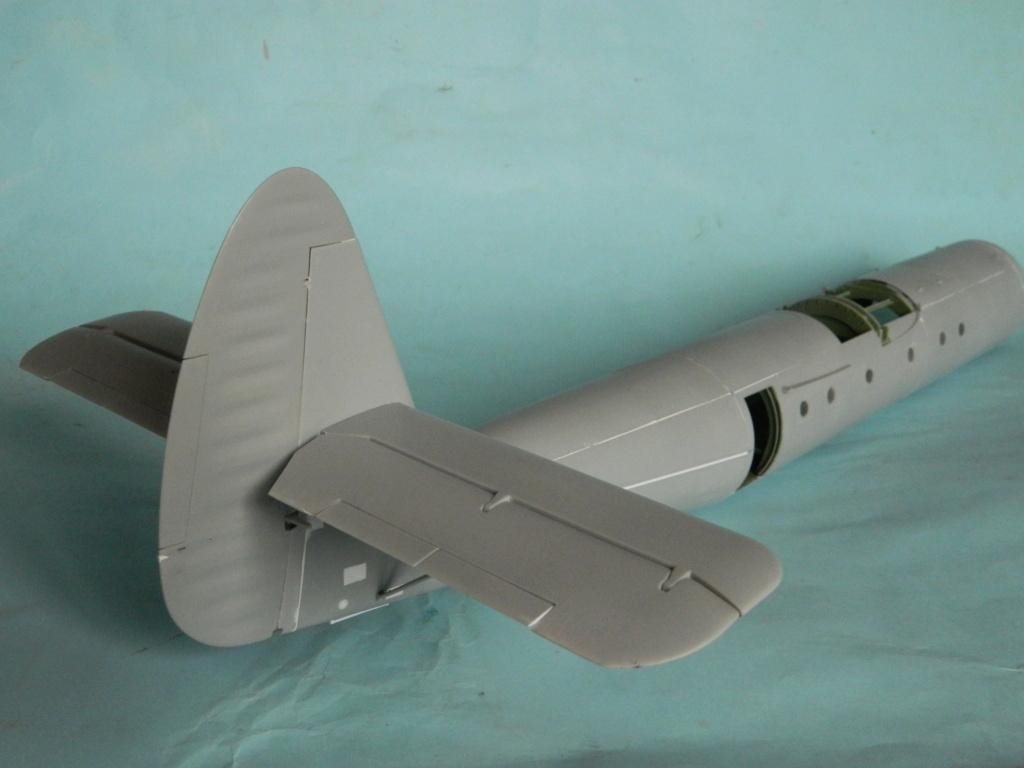 A.S.51 HORSA  Mk.1.  Bronco 1/35. Fermeture du fuselage. 6419