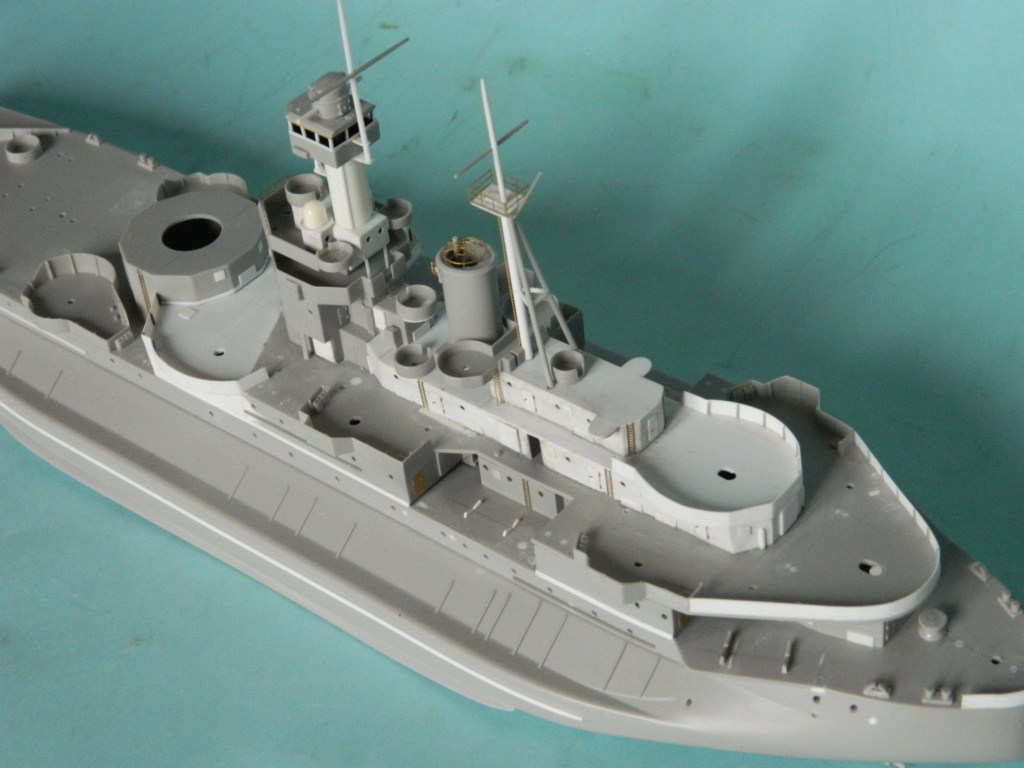 HMS Abercrombie Monitor. 1/350Trumpeter. 732