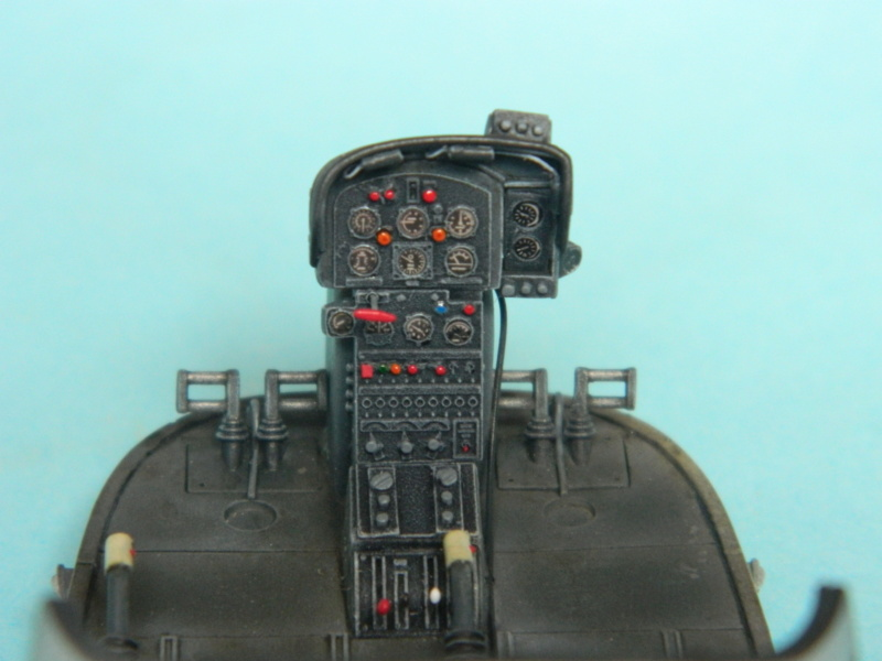 "ALOUETTE II MARINE. Revell 1/32. ""Assemblage , suite"". - Page 2 7615"