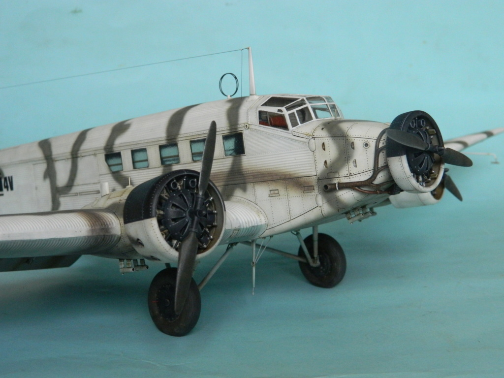 "Ju 52. Revell 1/48. ""Ende"". - Page 6 7616"