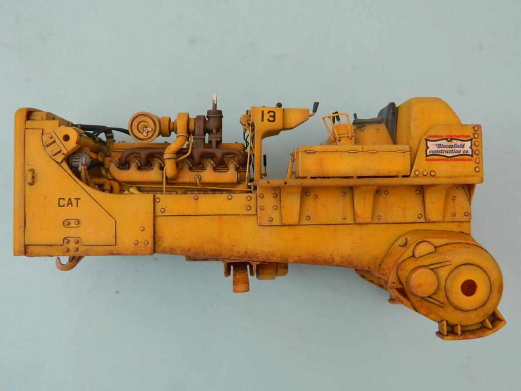 "BULLDOZER CATERPILLAR DH-8. AMT 1/25. ""Peinture du châssis"" . - Page 2 9214"