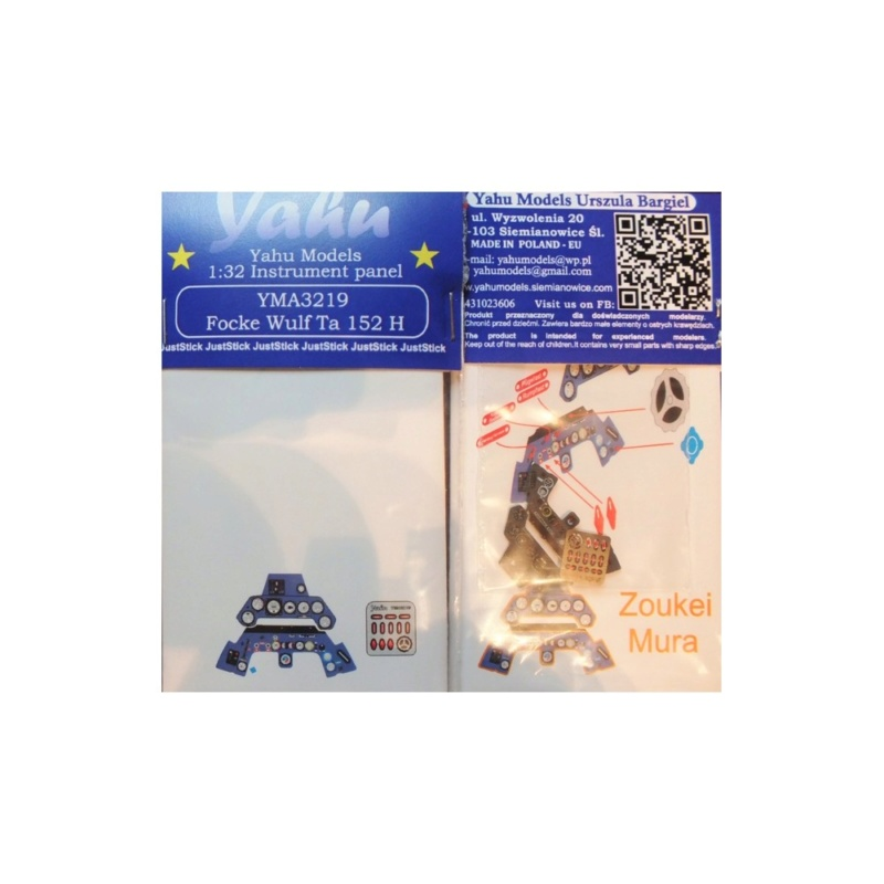 Ta152 H-1. 1/32 Zoukei Mura. Fin. B10