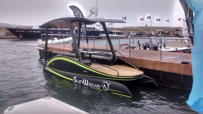 WE 20 au 24 septembre salon de la mobilité durable au port de Saint-Tropez Bateau13