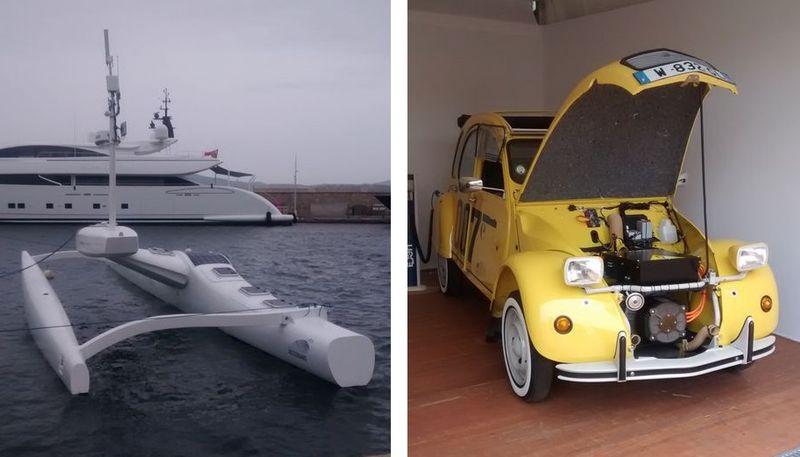 WE 20 au 24 septembre salon de la mobilité durable au port de Saint-Tropez Bateau14