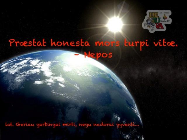 Præstat honesta mors turpi vitæ – Nepos Image010