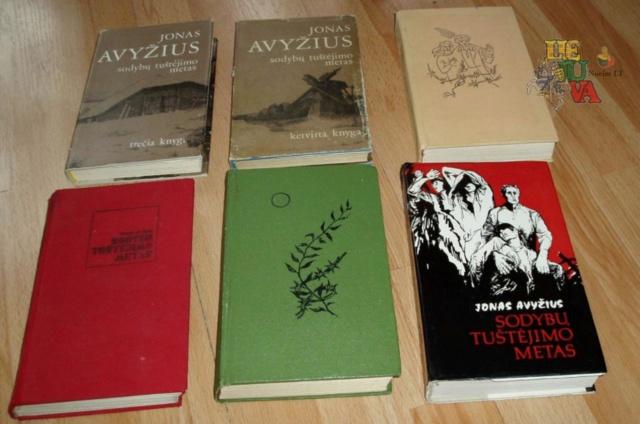 Jonas Avyžius Sodybų tuštėjimo metas, Kaimas kryžkelėje, Chameleono spalvos ir kitos knygos Image022