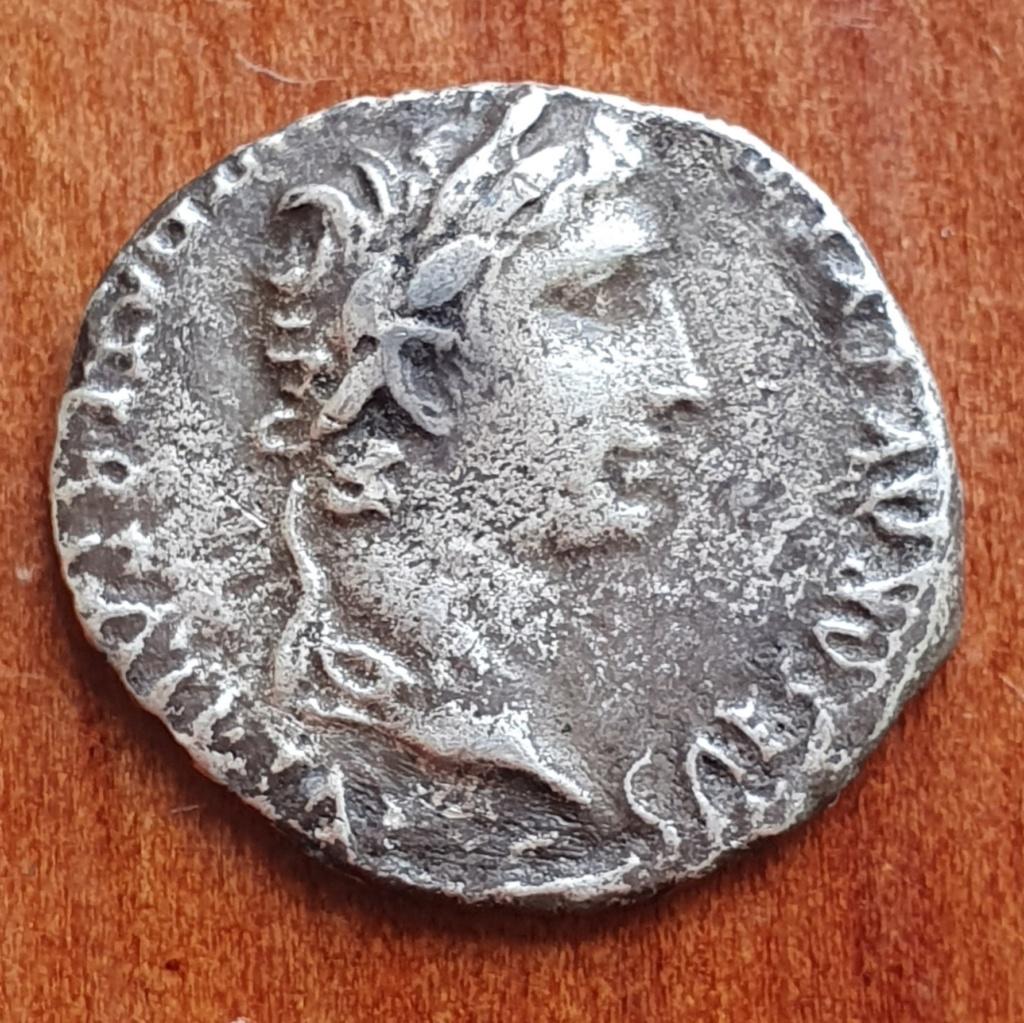 Reproducción denario de Augusto. 20200323