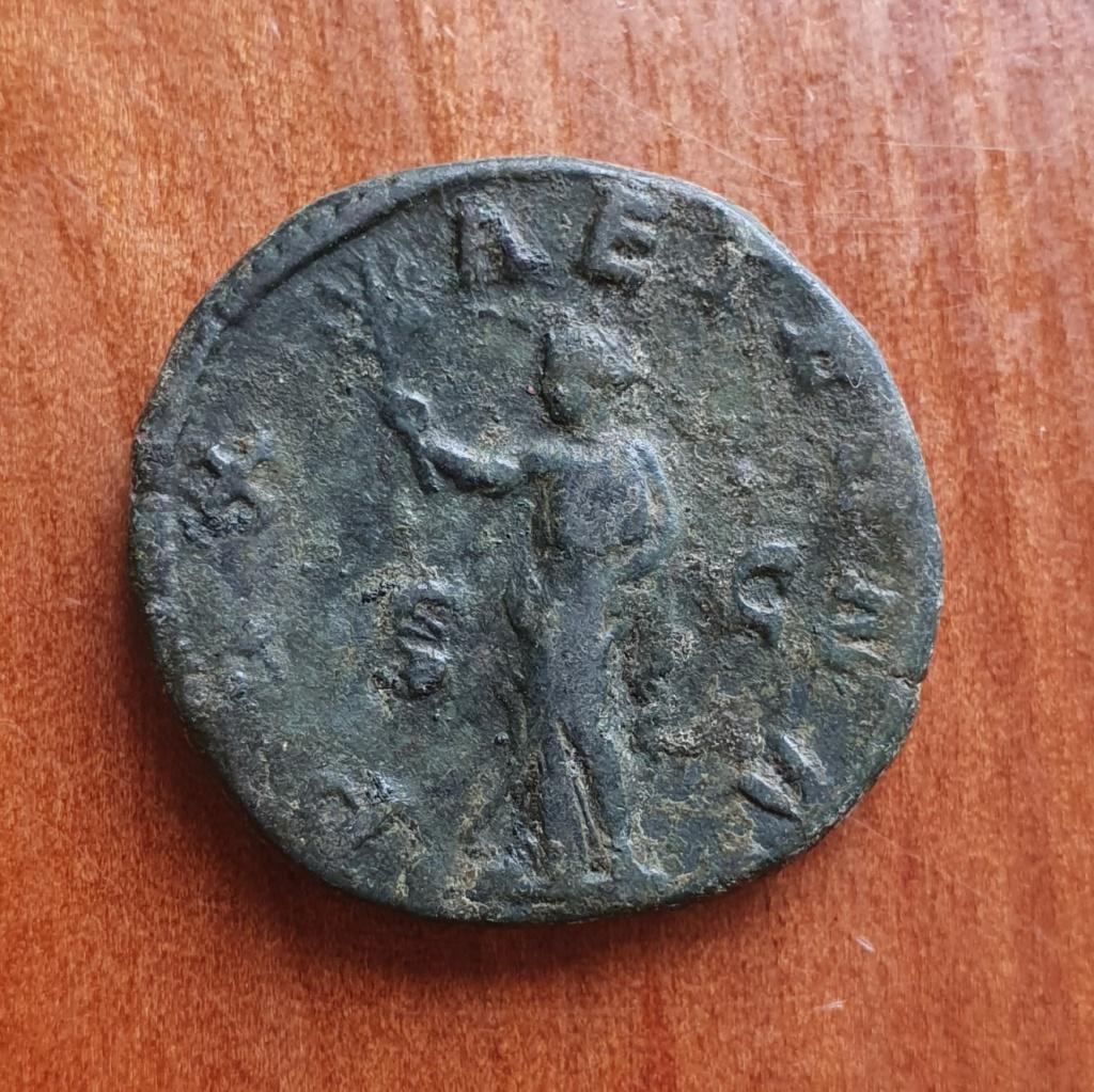 Sestercio de Filipo II. PAX AETERNA. Paz a izq. Roma 20200381