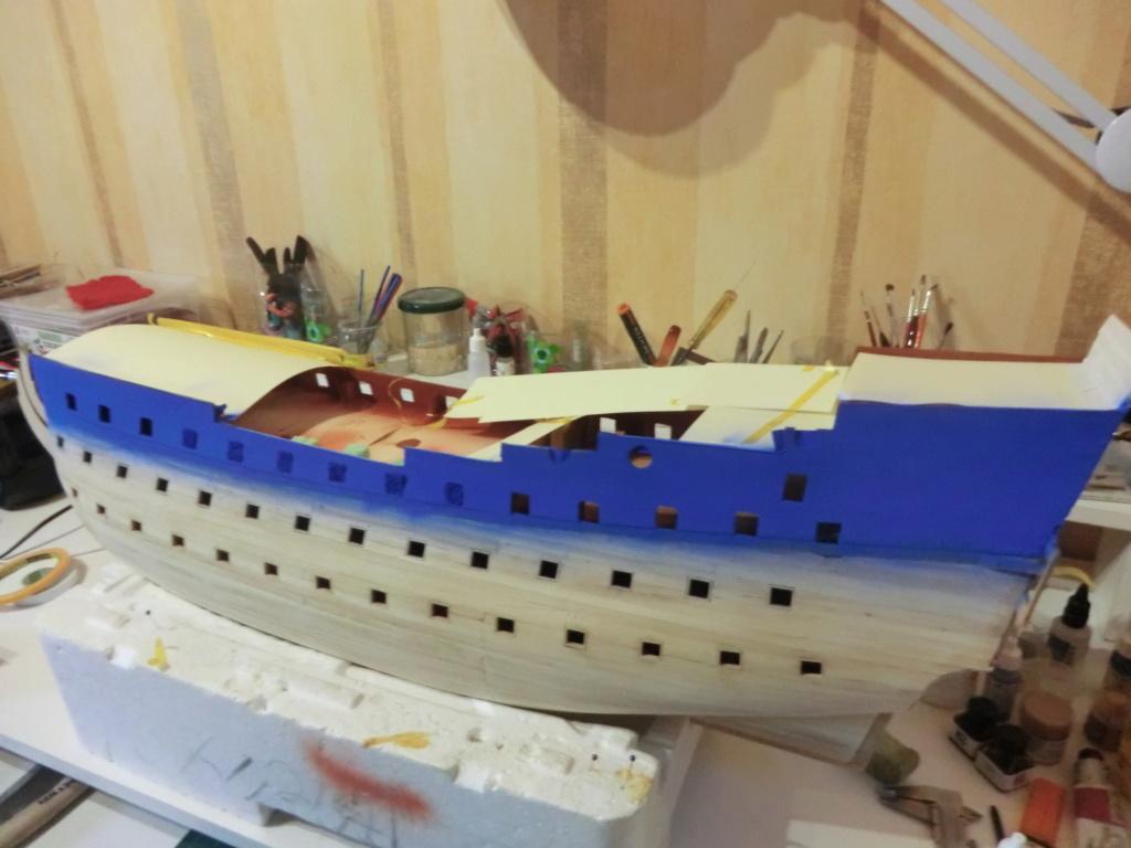 Mon deuxième bateau de Mantua/Sergal,le Soleil royal au 1/77éme de 1693  - Page 22 216