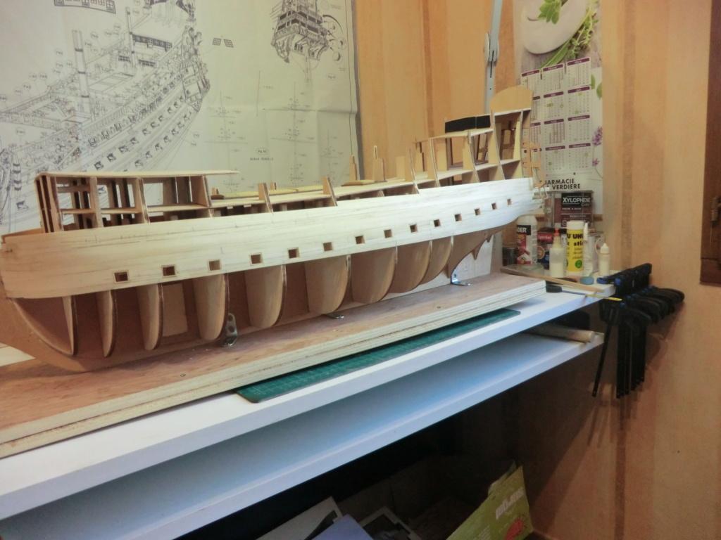 Mon deuxième bateau de Mantua/Sergal,le Soleil royal au 1/77éme de 1669 - Page 9 Cimg9539
