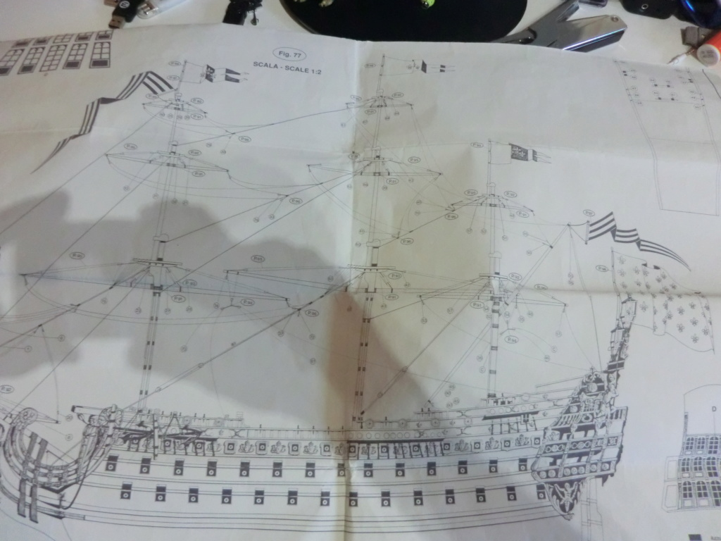 Mon deuxième bateau de Mantua/Sergal,le Soleil royal au 1/77éme de 1693  - Page 22 Cimg9949