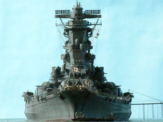 Projet: Cuirassé IJN Yamato Nichimo | N° 050515 | 1:200 Yamato10