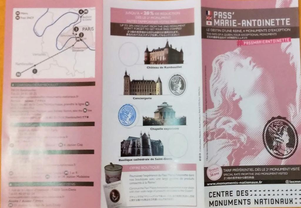 Pass Marie-Antoinette 20180149