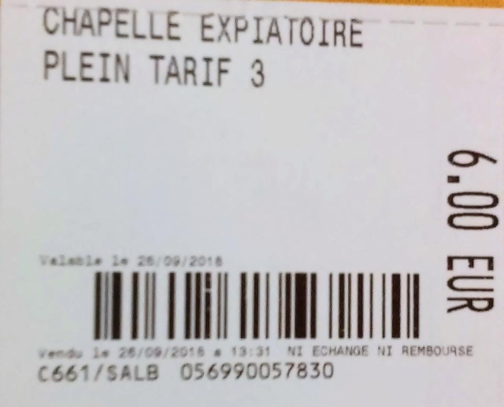 Pepe- Marie Antoinette tour- Paris 26. 9. 2018, Conciergerie, Place de la Concorde, Chapelle Expiatoire, Tuileries - Page 3 20181010