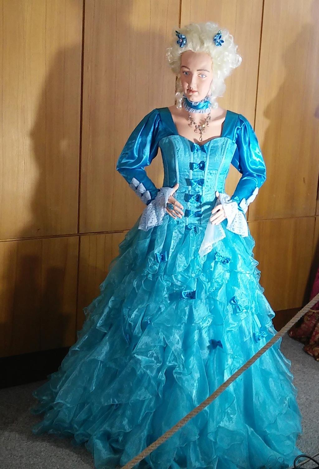 Exposition de figurines historiques Mladá Boleslav en République tchèque. Figurine de Marie Antoinette. 20190423