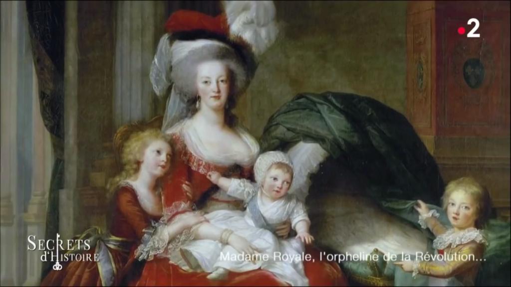 «Secrets d'histoire» Marie-Thérèse de France Snzym107