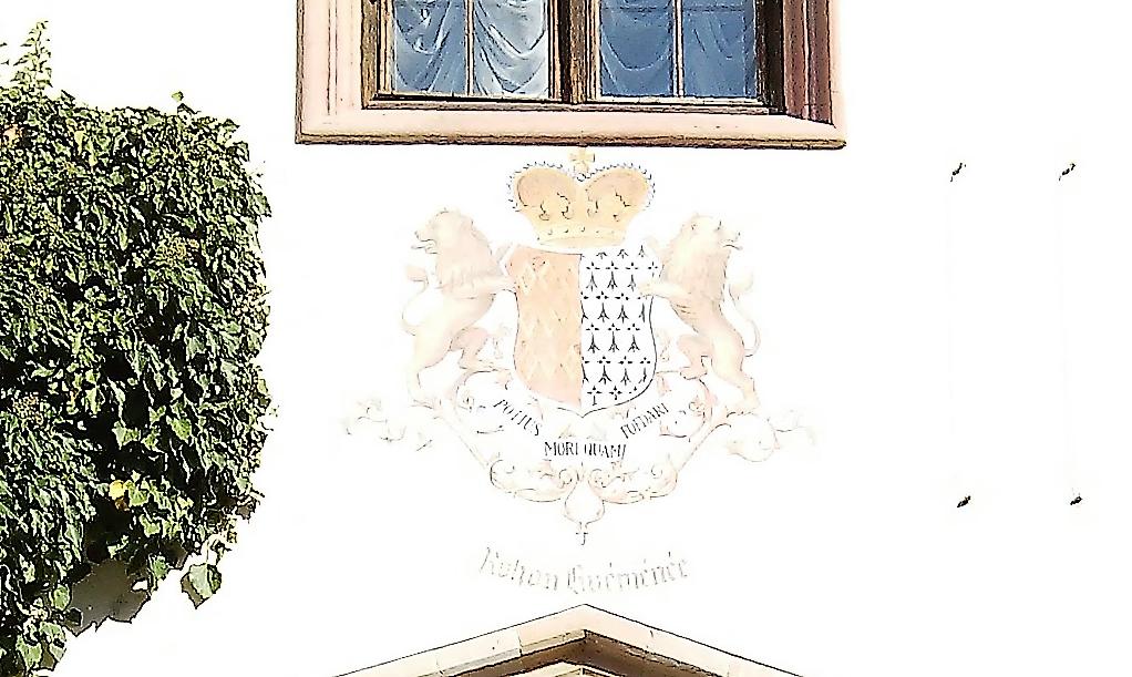 Château de Sychrov pour le cardinal Rohan et Victoire Armand, princesse de Guéménée le 14 octobre 2018 Snzym303