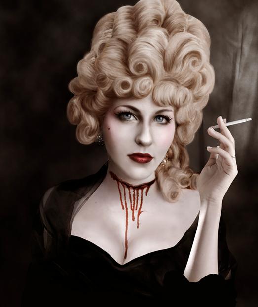 Marie Antoinette et Halloween Snzym326
