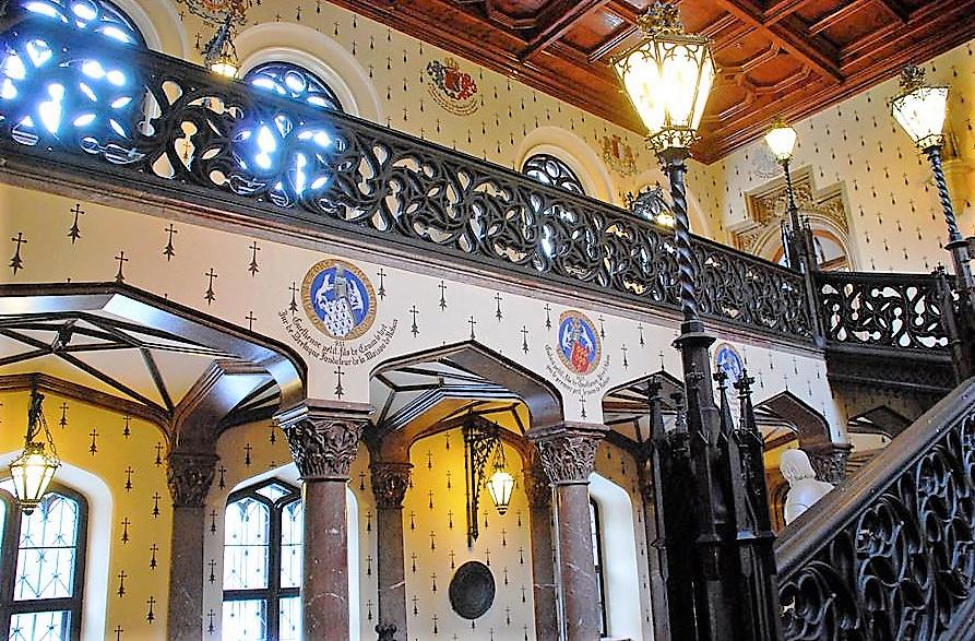 Château de Sychrov pour le cardinal Rohan et Victoire Armand, princesse de Guéménée le 14 octobre 2018 Snzyme26