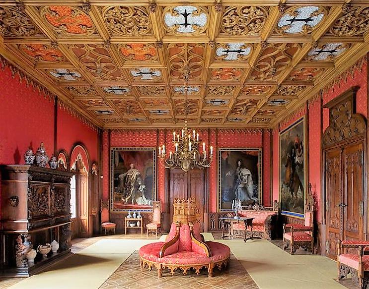 Château de Sychrov pour le cardinal Rohan et Victoire Armand, princesse de Guéménée le 14 octobre 2018 Snzyme28
