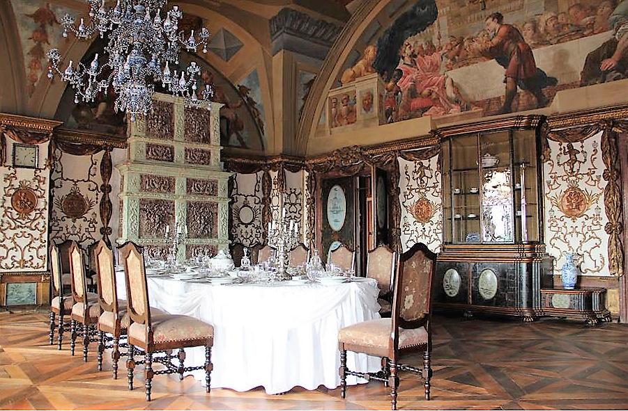 Château de Sychrov pour le cardinal Rohan et Victoire Armand, princesse de Guéménée le 14 octobre 2018 Snzyme29