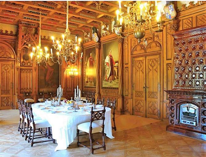 Château de Sychrov pour le cardinal Rohan et Victoire Armand, princesse de Guéménée le 14 octobre 2018 Snzyme30