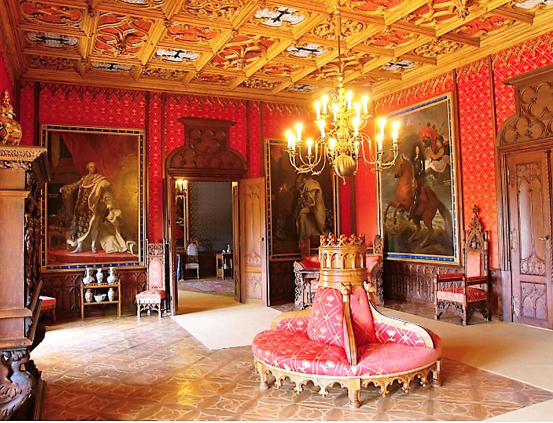 Château de Sychrov pour le cardinal Rohan et Victoire Armand, princesse de Guéménée le 14 octobre 2018 Snzyme31
