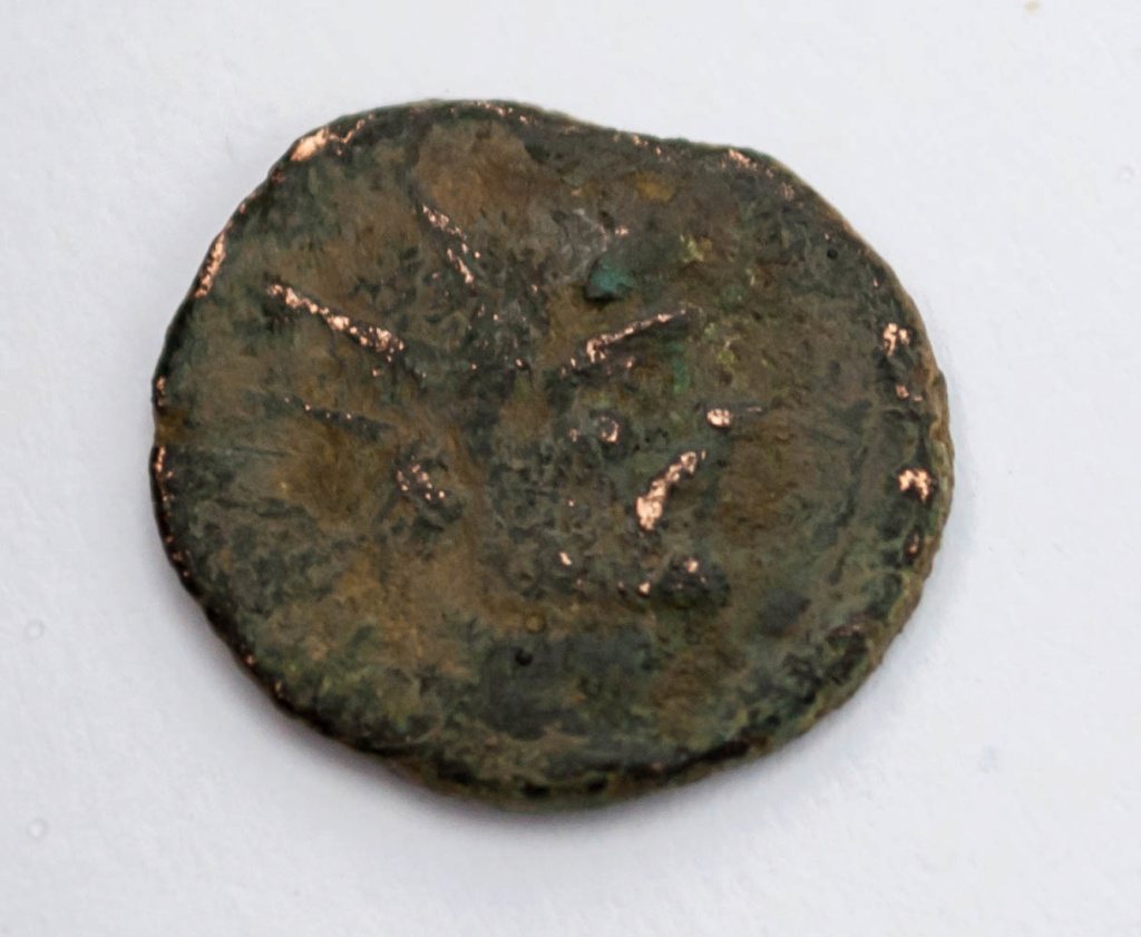 Radiado póstumo de Claudio II. CONSECRATIO. Águila  Dsc_0016