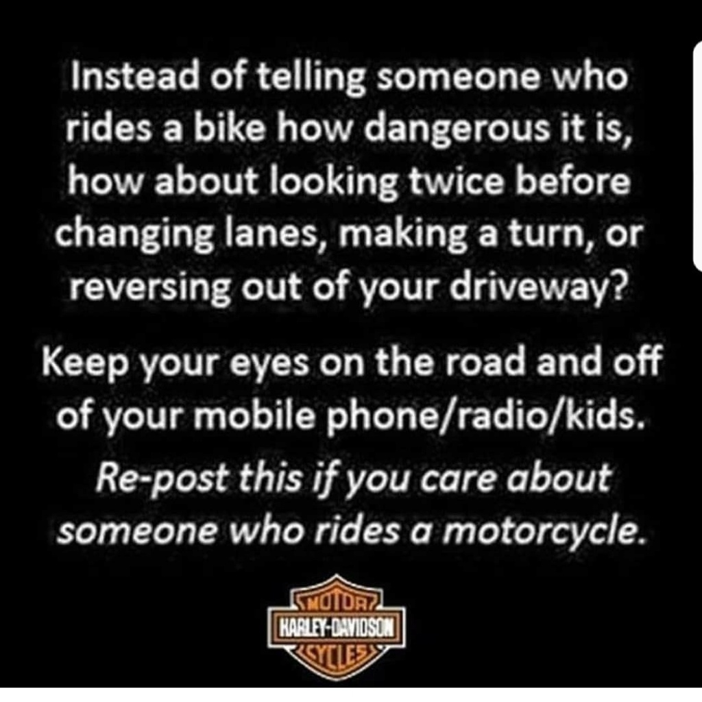 Interesante mensaje de Harley Davidson Hd10