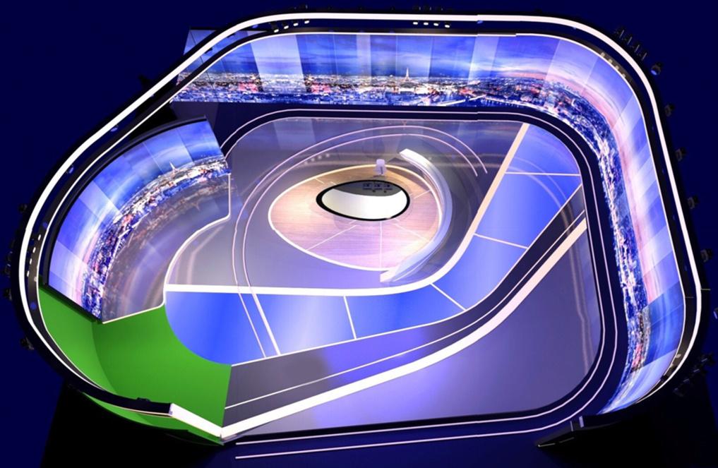 Nouveau plateau du JT de TF1 - 27 août 2018 Tf1pla10