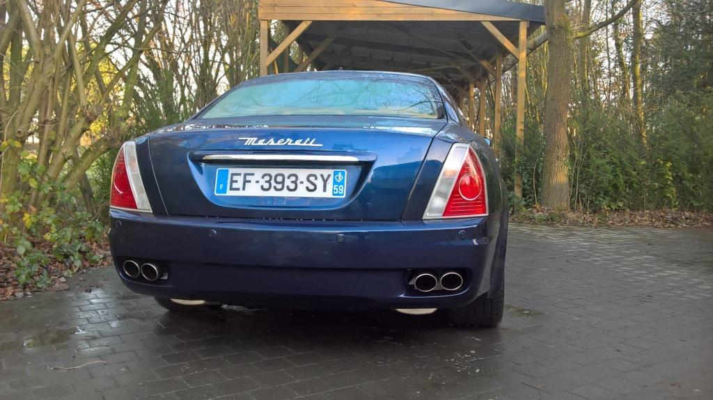 Avis maserati quattroporte 2005 A5049510