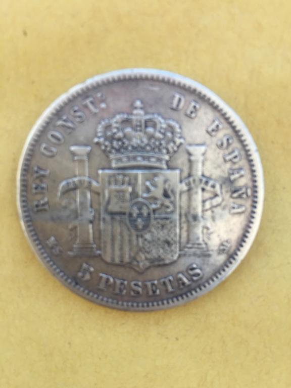 5 pesetas 1883 Alfonso XII 281d9510