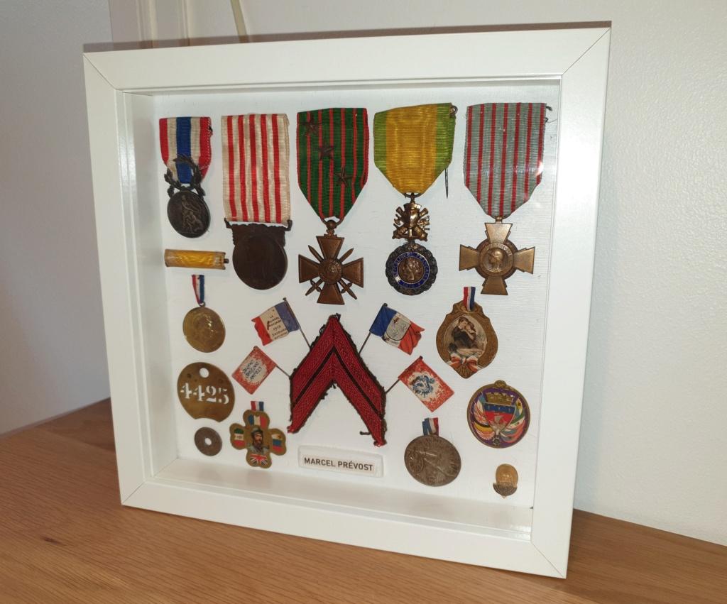 Médaille et décoration WW1 familiales  20200827