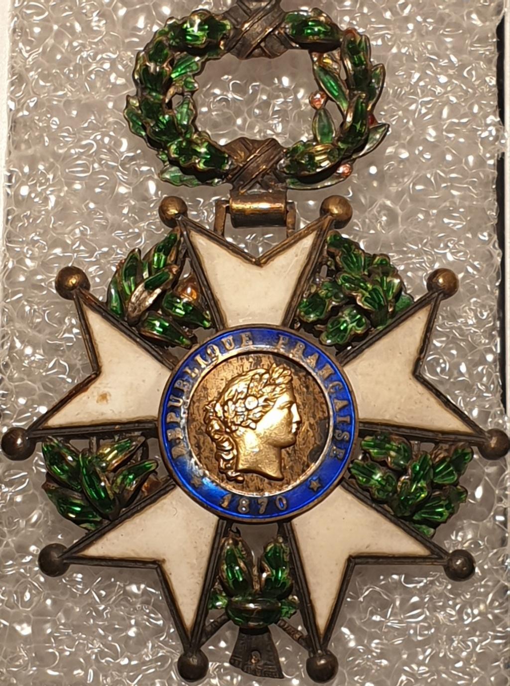Estimation médaille officier de la légion d'honneur  20201224