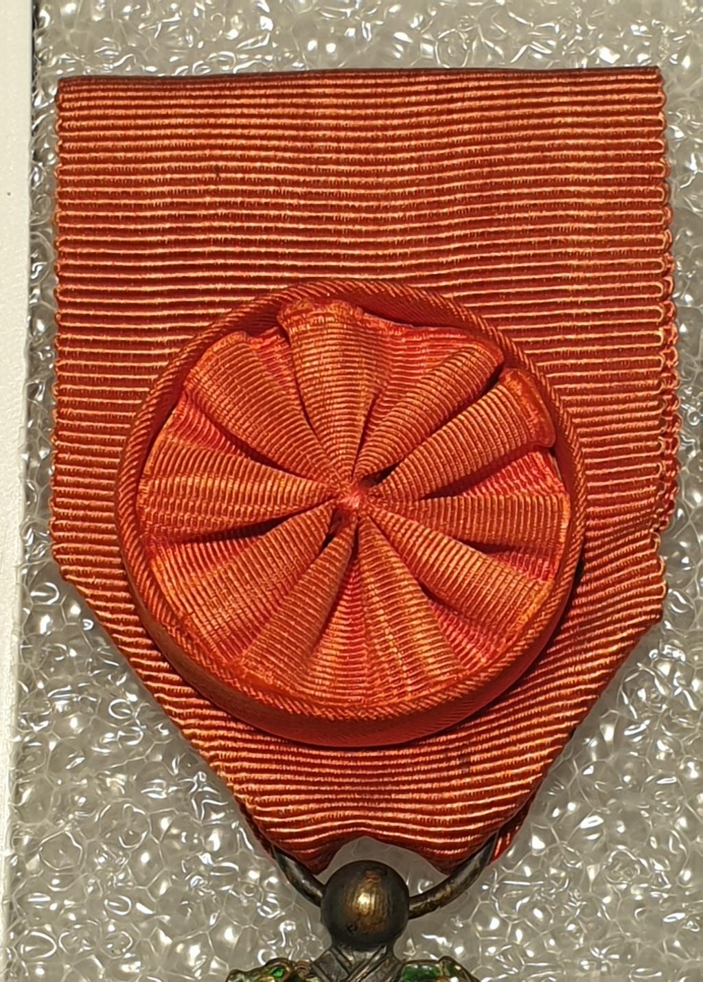 Estimation médaille officier de la légion d'honneur  20201226