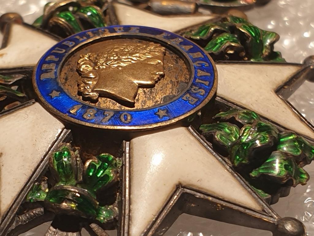 Estimation médaille officier de la légion d'honneur  20201228