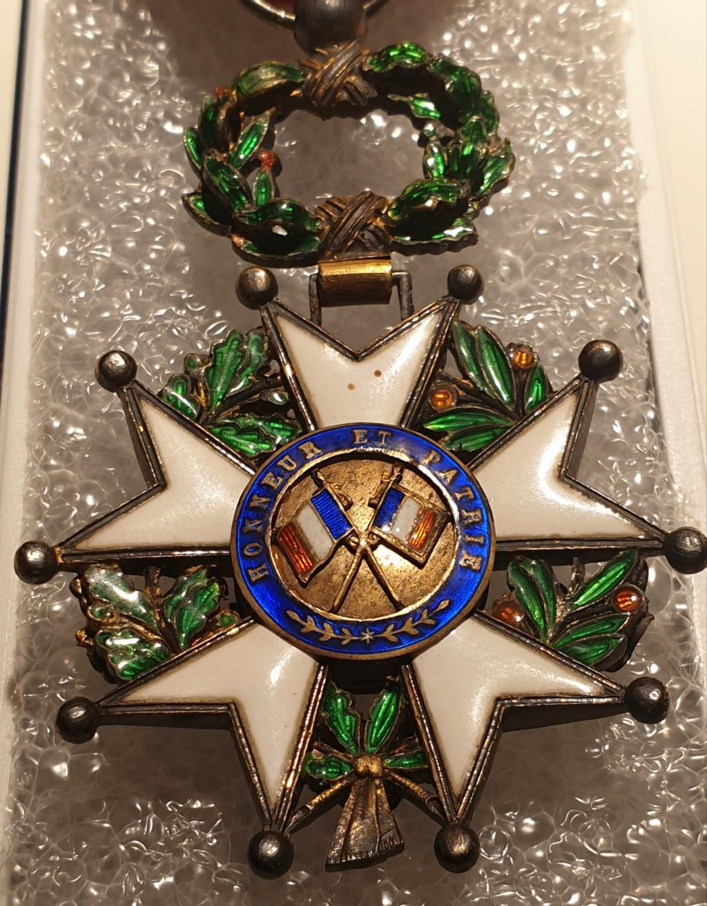 Estimation médaille officier de la légion d'honneur  20201231