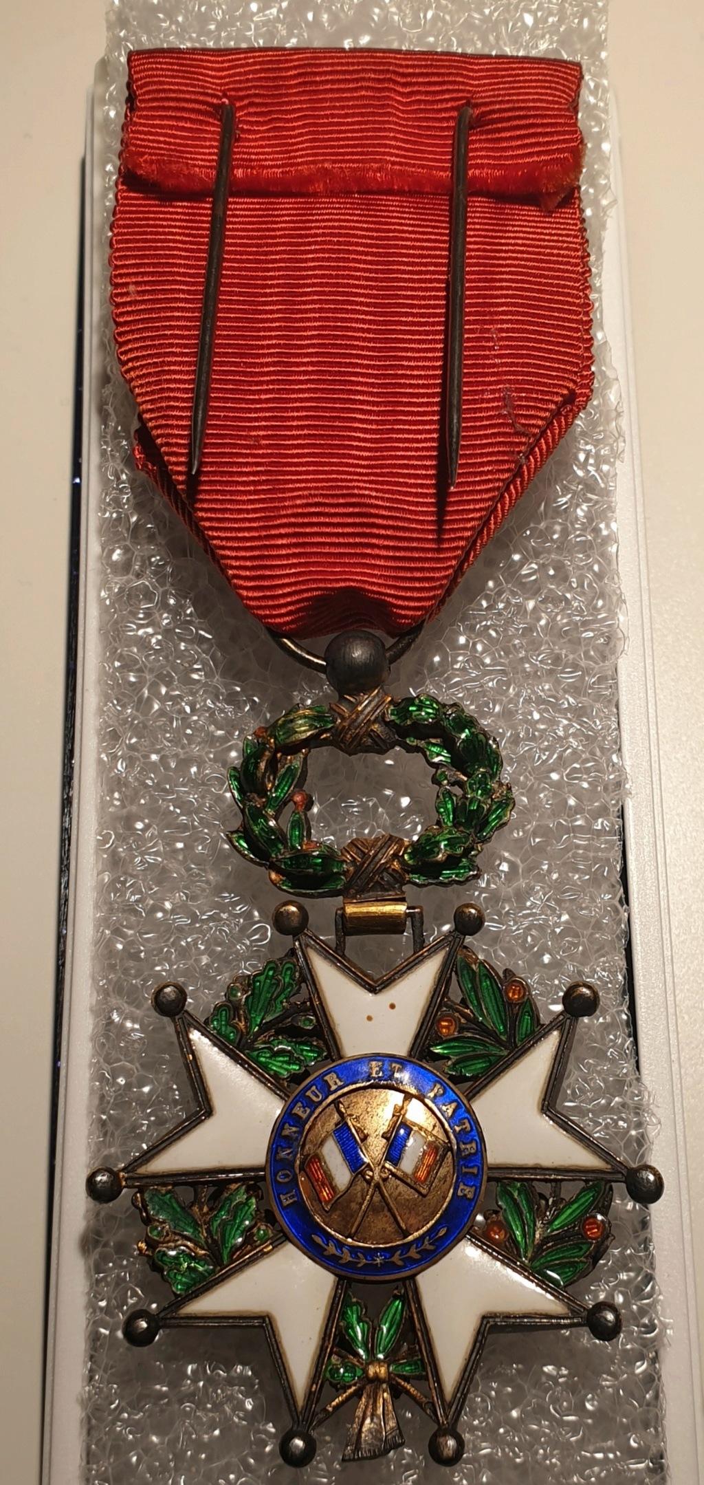Estimation médaille officier de la légion d'honneur  20201233
