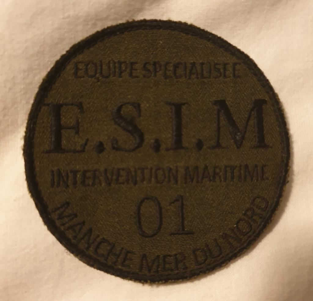 Écusson marine nationale E.S.I.M 20210210